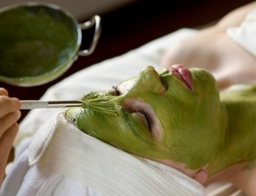 Homemade Green Tea Face Mask for Sensitive Acne-Prone Skin
