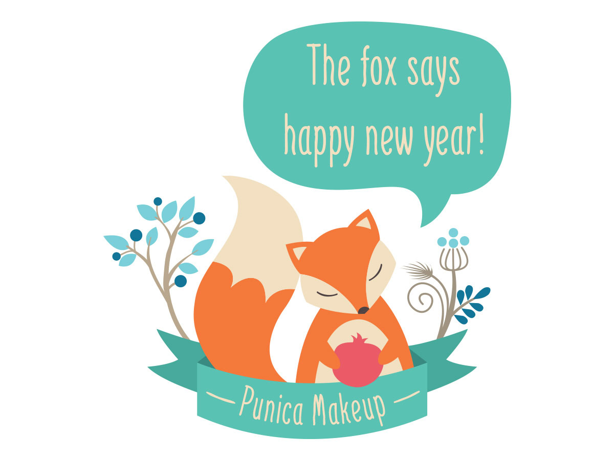 The fox says happy new year