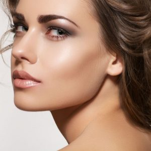 bronze blush for cheekbone