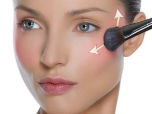 Effective blush makeup