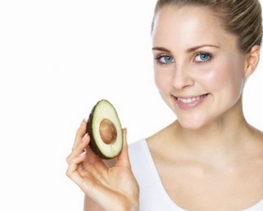 Avocado beauty treatment