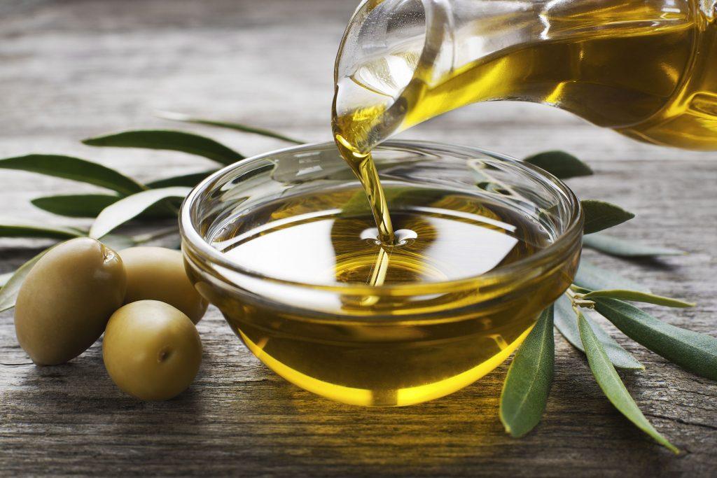 Olive oil for dry skin