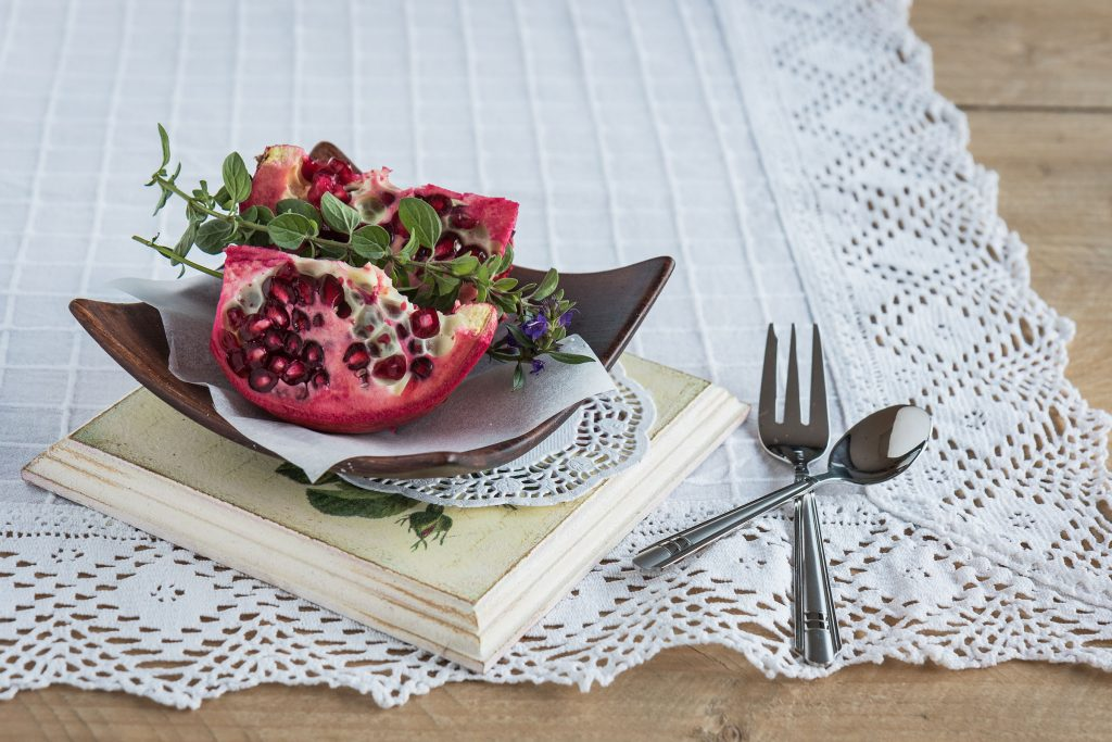 Pomegranate for beautiful skin