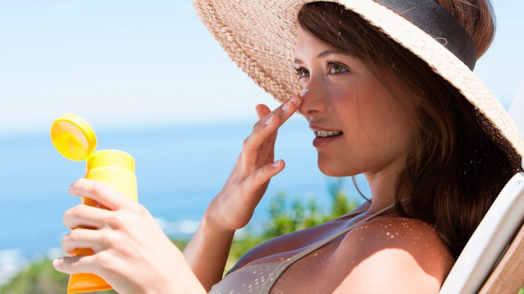 Wear sun protection against UV rays