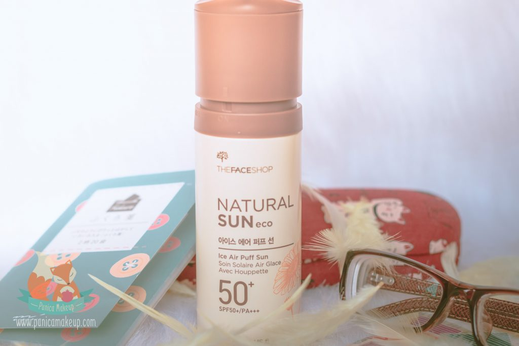 The Face Shop - Natural Sun Eco Ice Air Puff Sun SPF 50+ PA+++