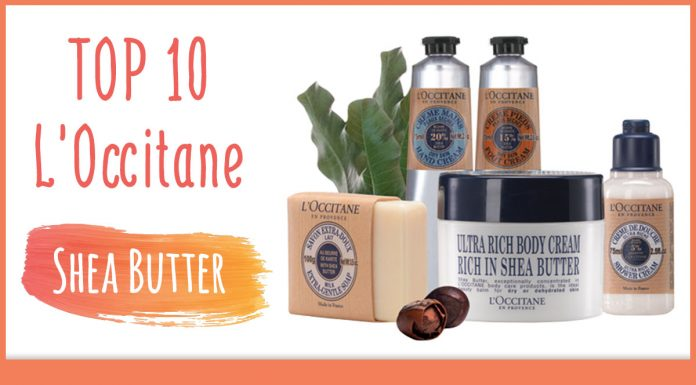 LOccitane Shea Butter Skincare Products