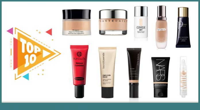 Top 10 Best Foundations for Dry Skin