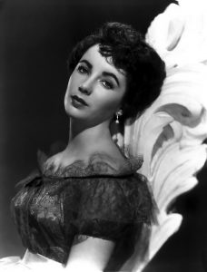 Elizabeth Taylor thick arched eyebrows