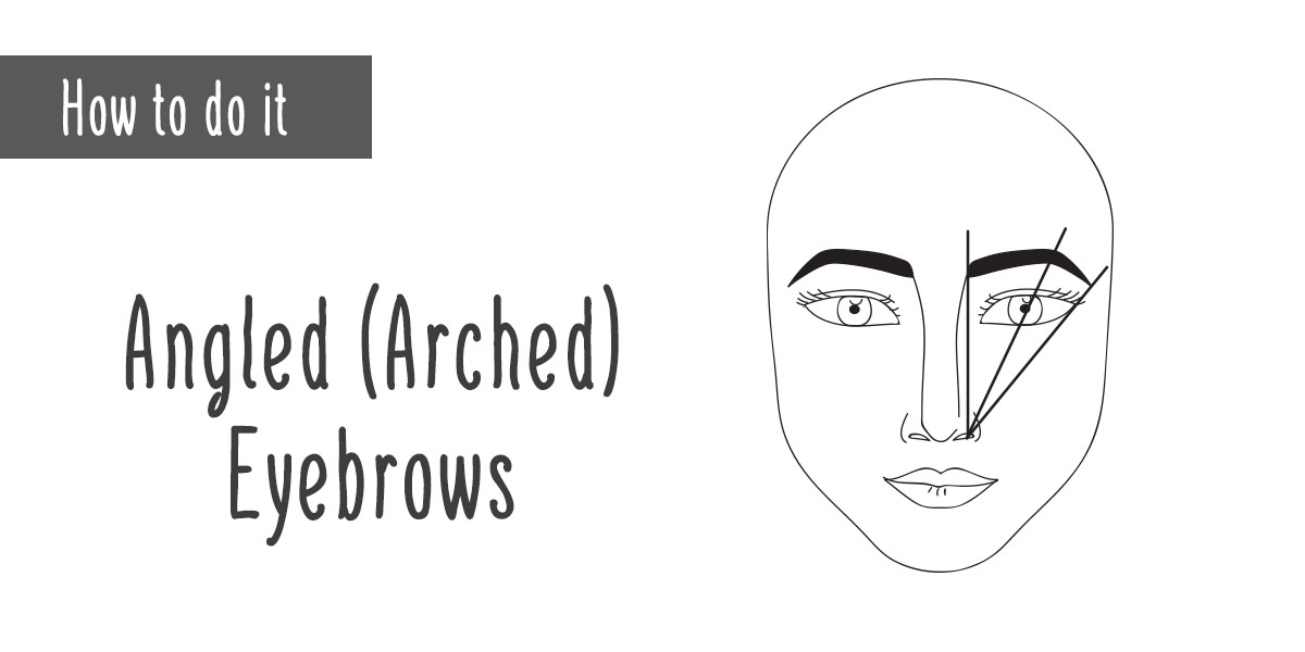 How To Shape 3 Perfect Eyebrows For Your Face Punica Makeup