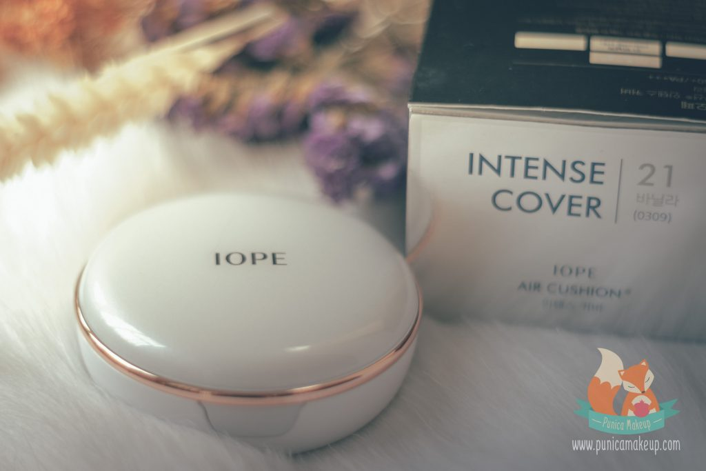 IOPE Air Cushion 2017 Intense Cover Packaging
