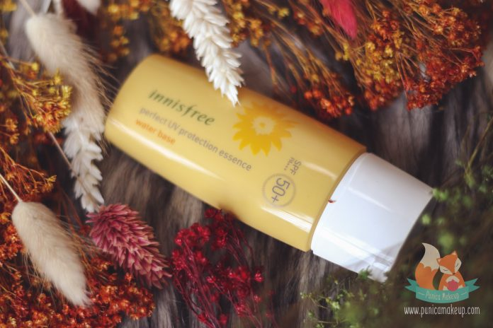Innisfree Perfect UV Protection Essence Water Base Featured