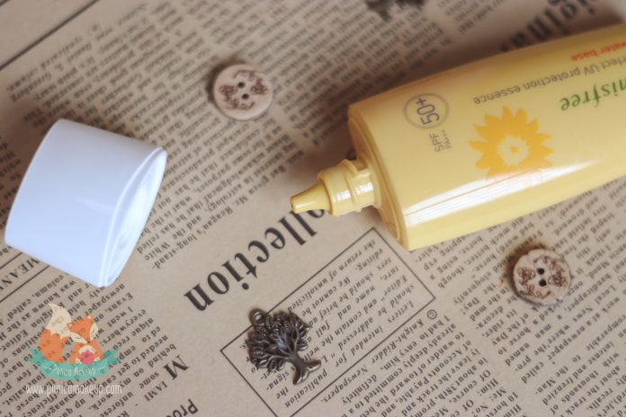 Innisfree Perfect UV Protection Essence Water Base Opened