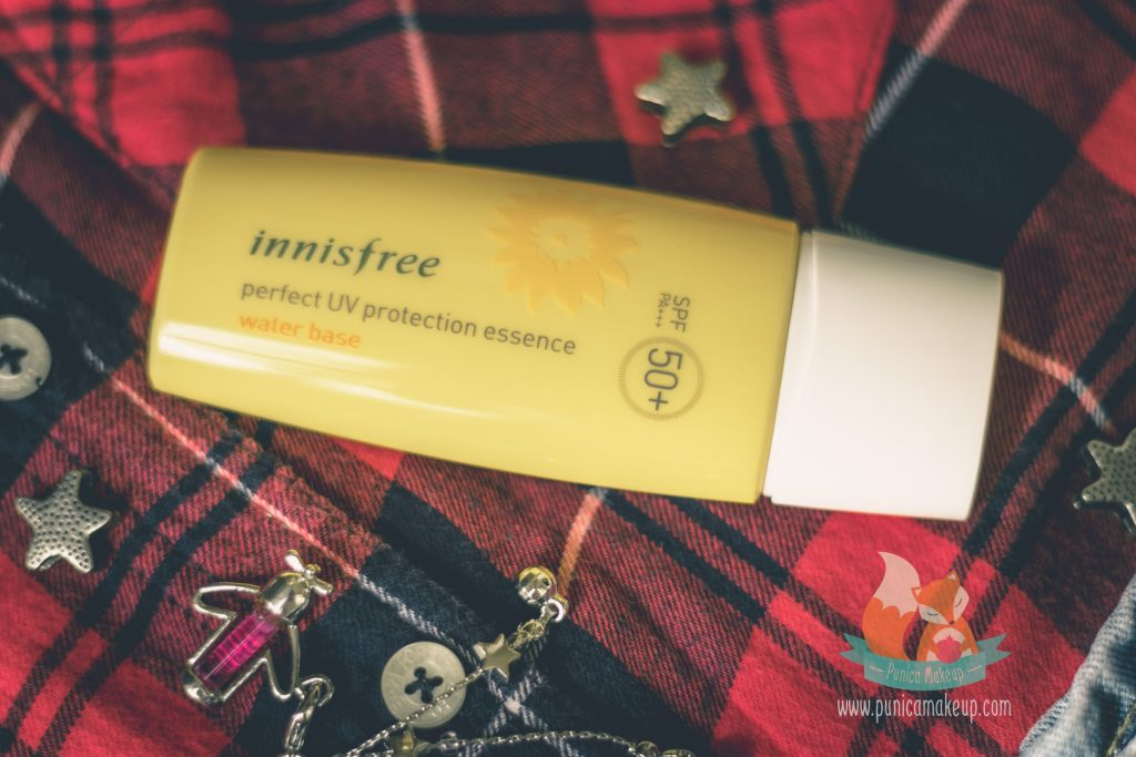 Review Innisfree Perfect UV Protection Essence Water Base SPF 50 PA Cover