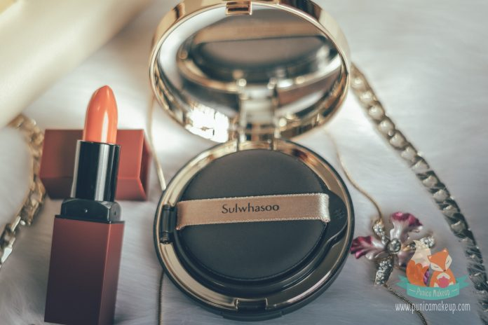 Sulwhasoo Perfecting Cushion Intense Opened