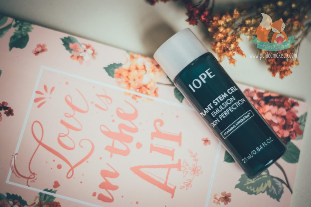 Review IOPE Plant Stem Cell Emulsion Skin Perfection