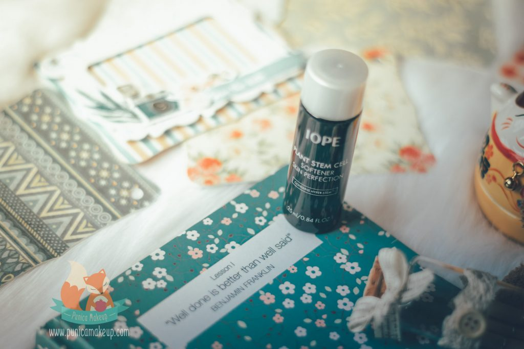 Review IOPE Plant Stem Cell Softener Skin Perfection