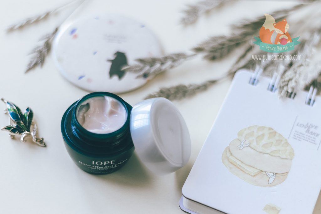 About IOPE Plant Stem Cell Cream Skin Perfection