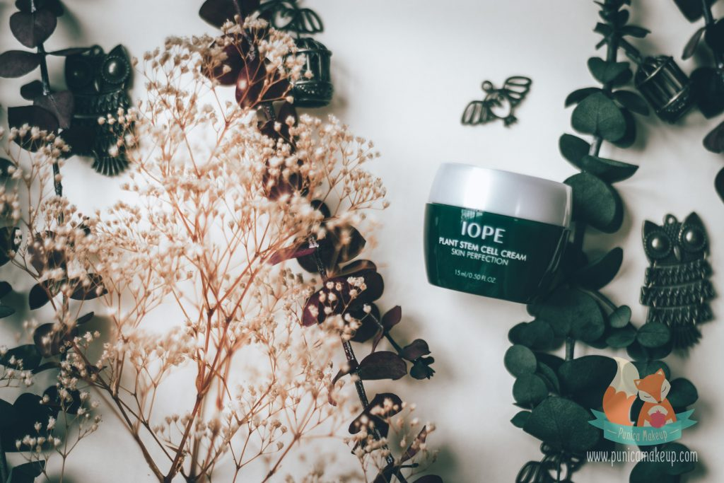 IOPE Plant Stem Cell Cream Skin Perfection Packaging