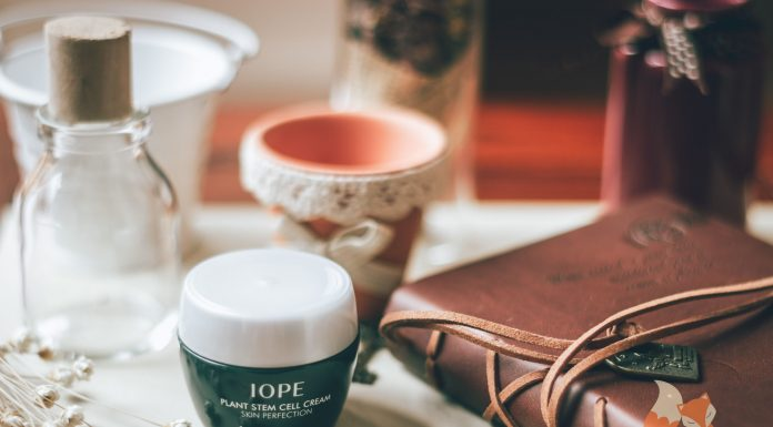 Review IOPE Plant Stem Cell Cream Skin Perfection