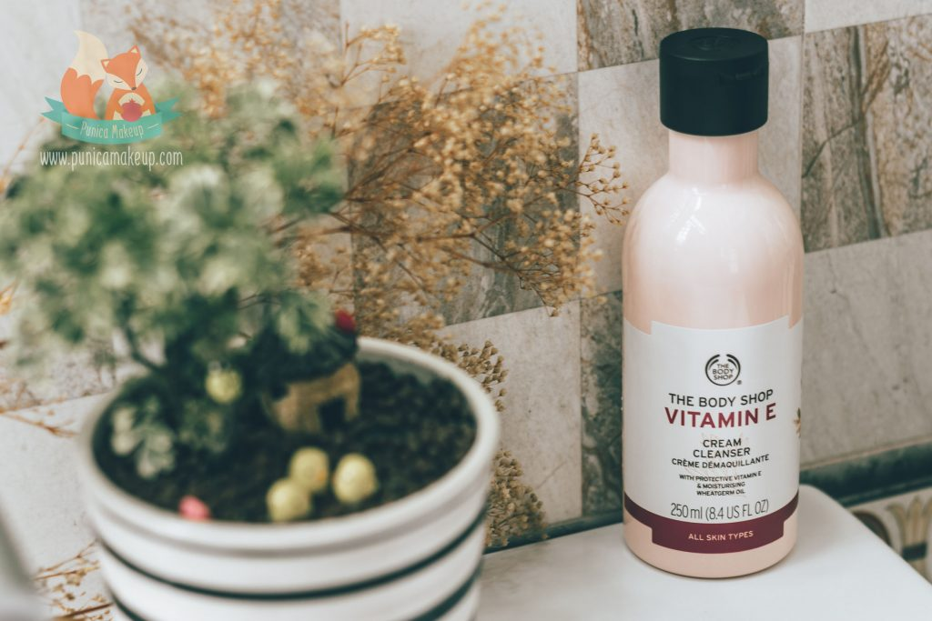 About The Body Shop Vitamin E Cream Cleanser