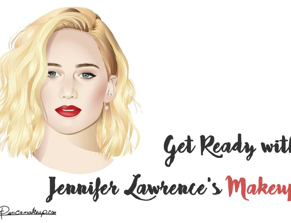 Get Ready with Jennifer Lawrence's Makeup