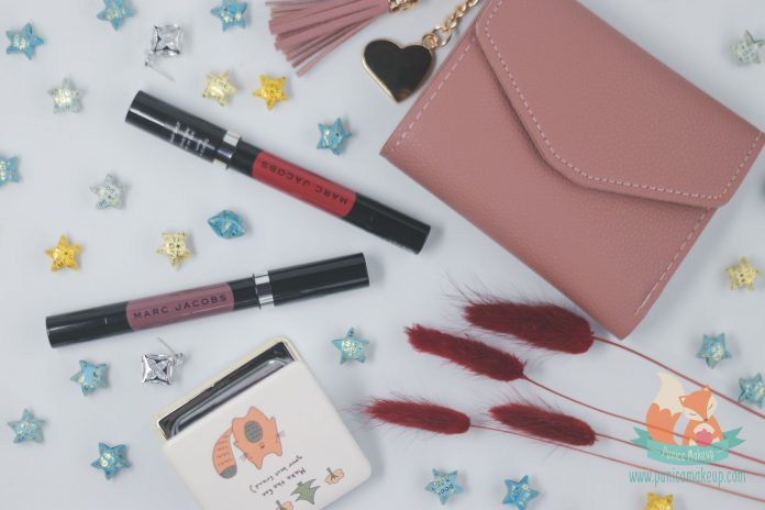 Marc Jacobs Le Marc Liquid Lip Crayon Packaging