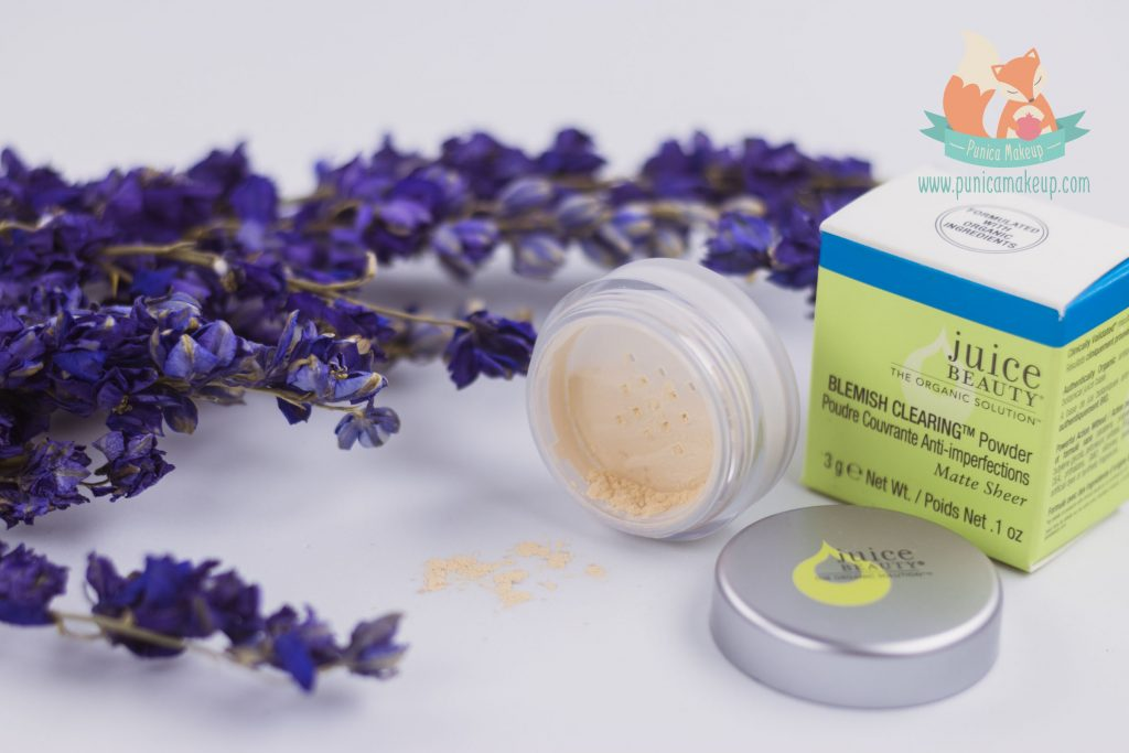 Juice Beauty Blemish Clearing Powder Packaging