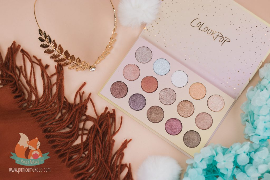 ColourPop Golden State of Mind Shadow Palette Packaging