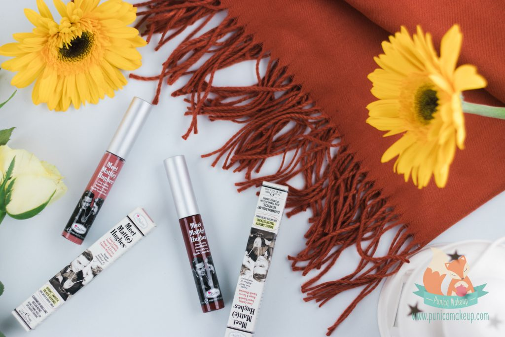 theBalm Meet Matte Hughes Long Lasting Liquid Lipstick Packaging