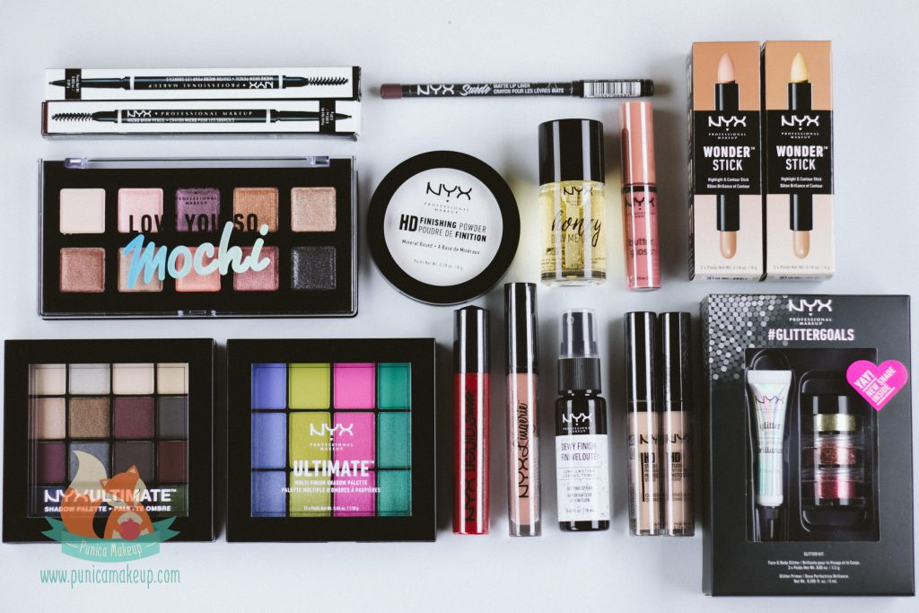 Inside NYX Professional Makeup Limited Release Box