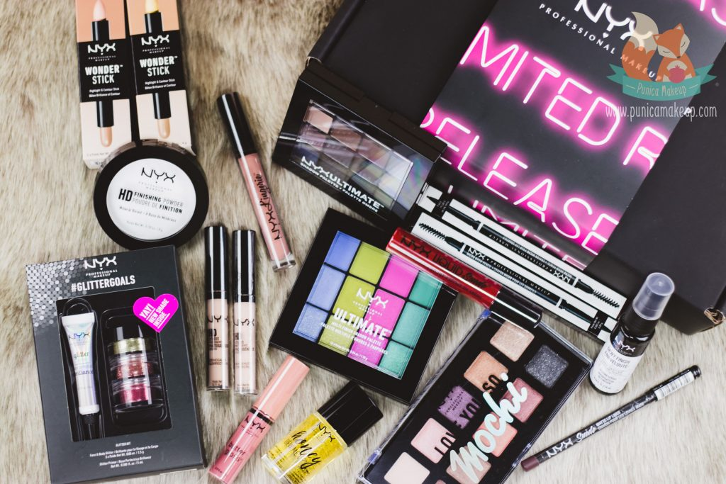 Unbox NYX Professional Makeup Limited Release Box