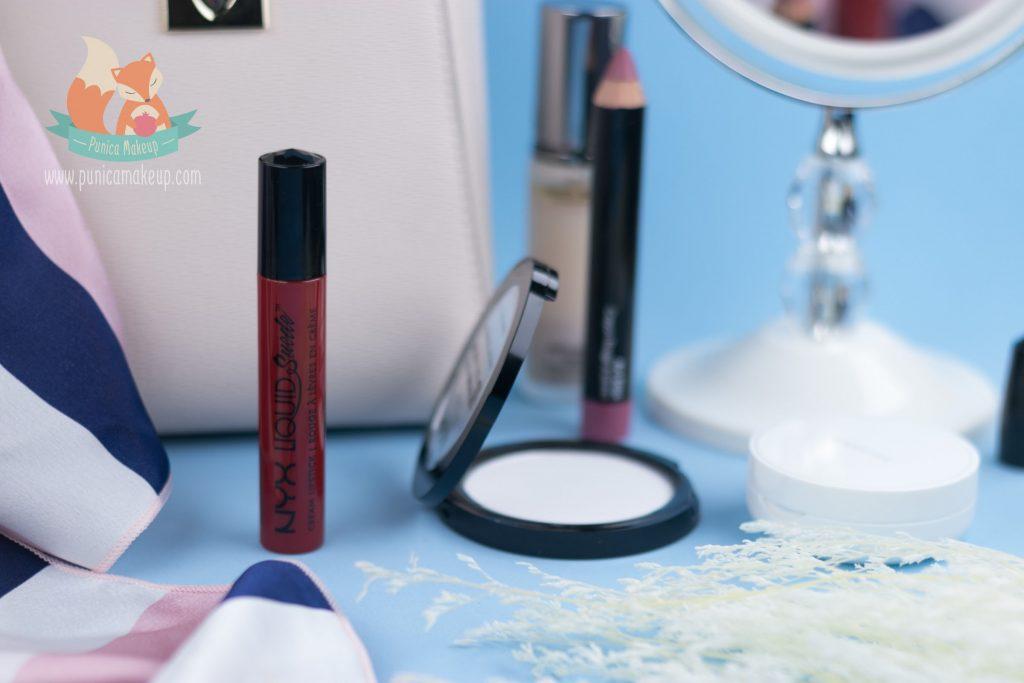 About NYX Liquid Suede Cream Lipstick Kitten Heels