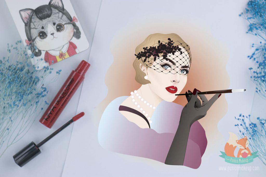 NYX Liquid Suede Cream Lipstick Kitten Heels