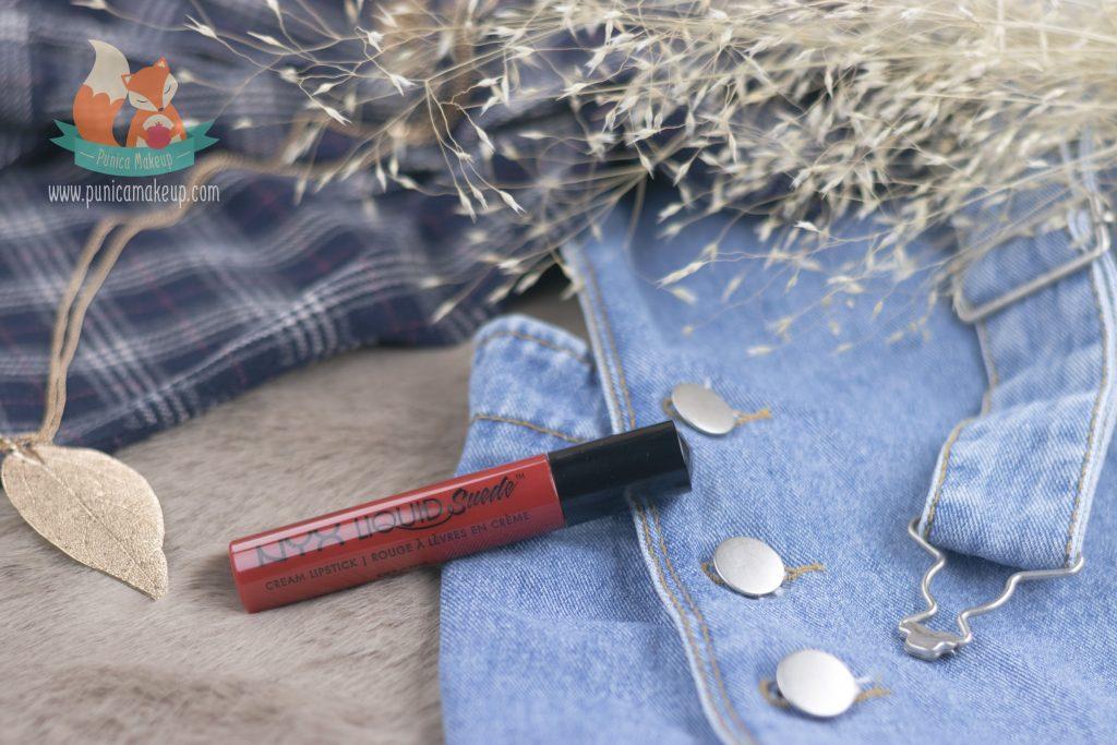 NYX Liquid Suede Cream Lipstick Kitten Heels Packaging
