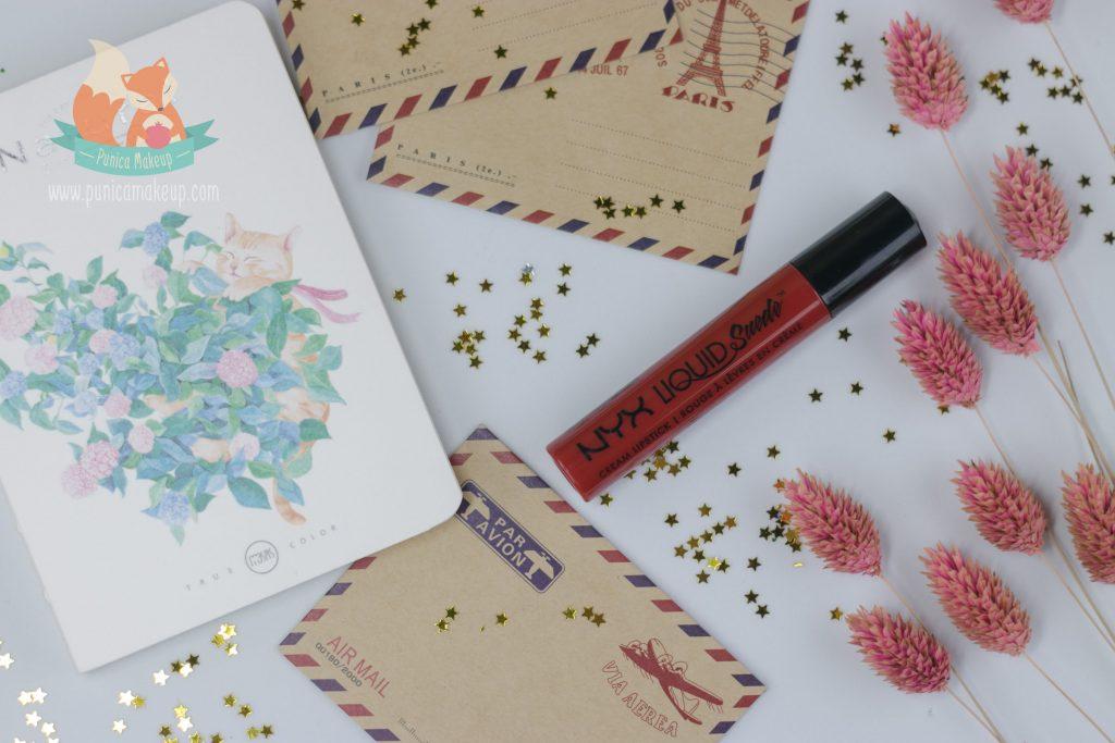 Review NYX Liquid Suede Cream Lipstick Kitten Heels