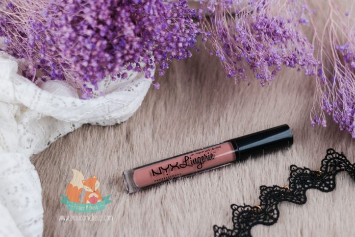 About NYX Lip Lingerie Liquid Lipstick