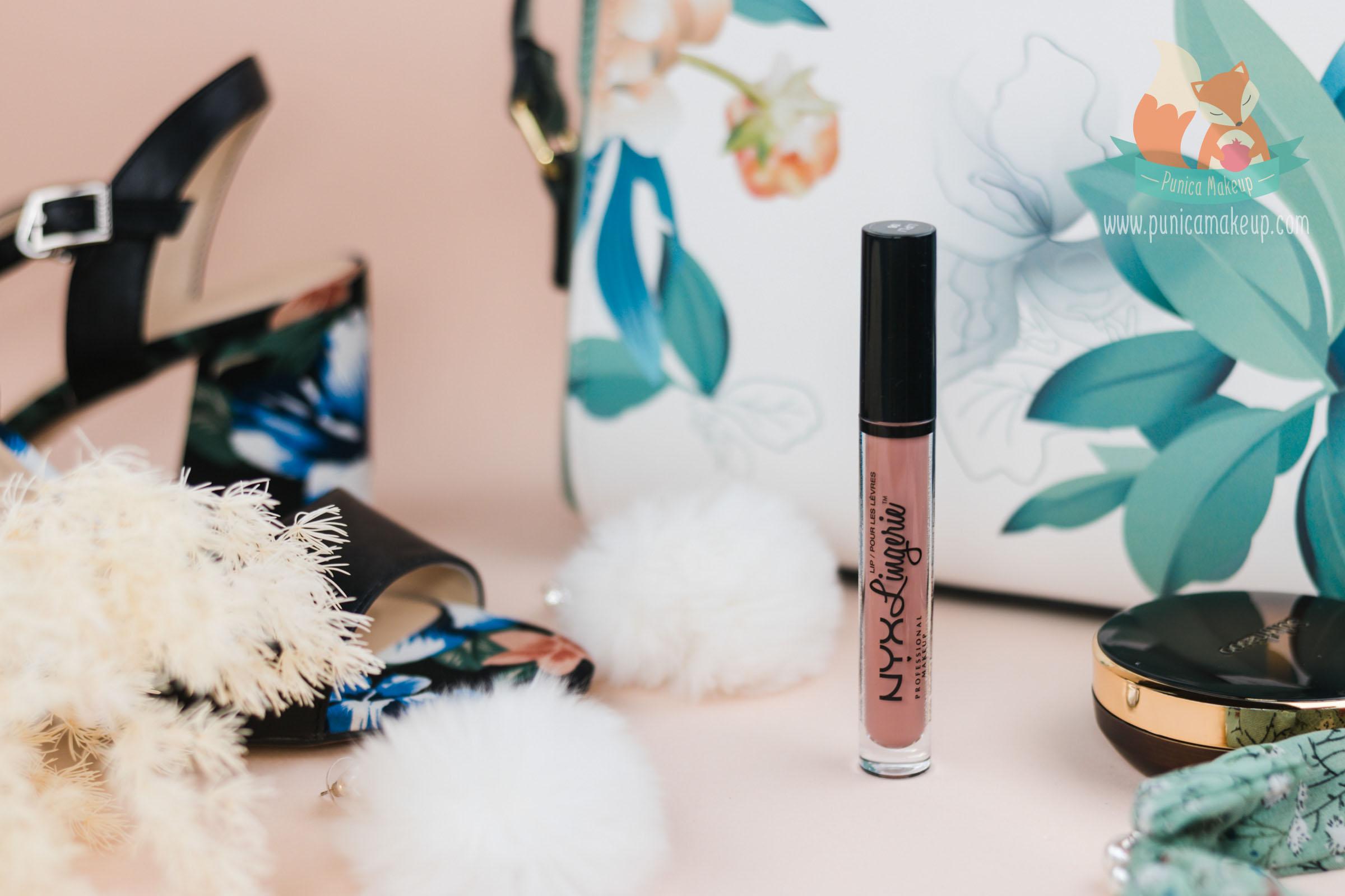 NYX Lip Lingerie Liquid Lipstick Featured