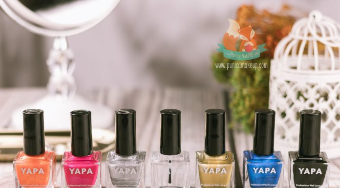 YAPA Beauty Nail Polish Featured