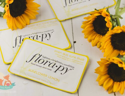 Review: Florapy Beauty – Even Skin Tone Sheet Mask (Sunflower Lemon)