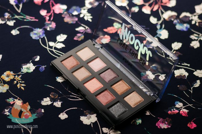 NYX Love You So Mochi Eyeshadow Palette Sleek Chic