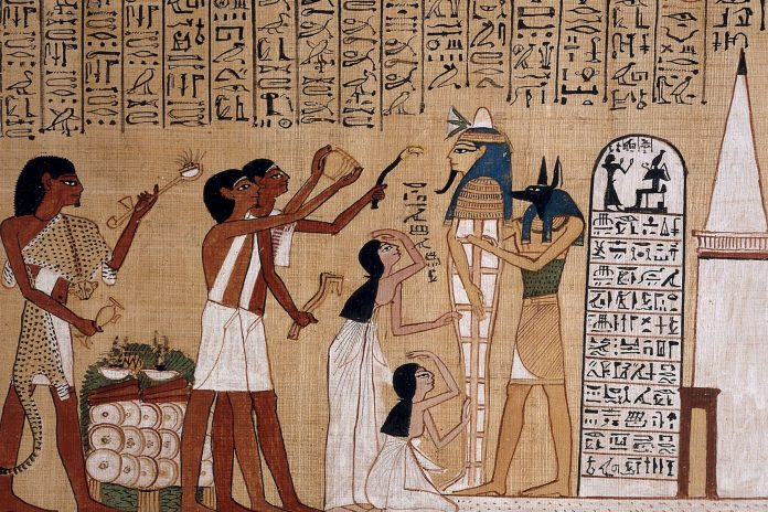 Essential Oils used in Ancient Egypt for ceremonies