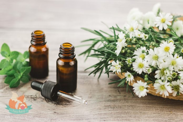 Essential oils for human holistic well-being