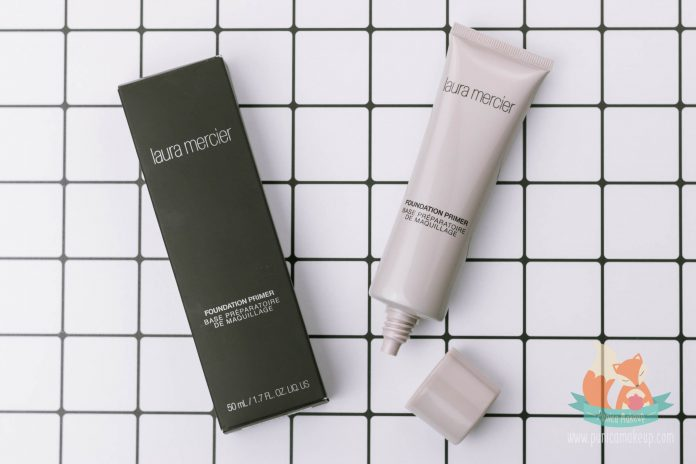 Laura Mercier Foundation Primer Packaging
