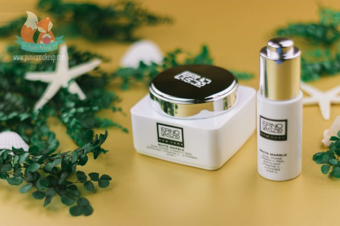 Review Erno Laszlo White Marble Dual Phase Vitamin C Peel