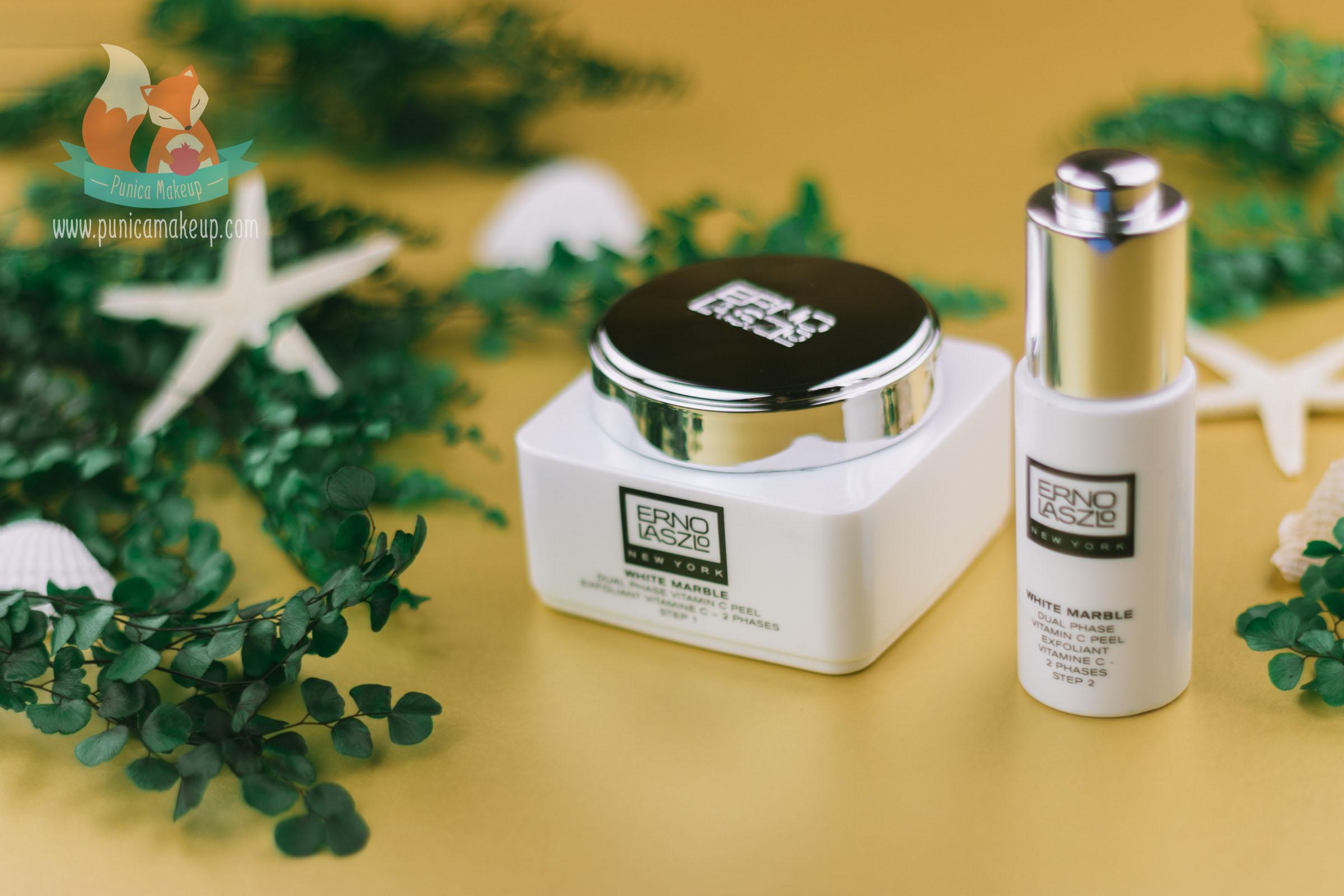 Review Erno Laszlo White Marble Dual Phase Vitamin C Peel